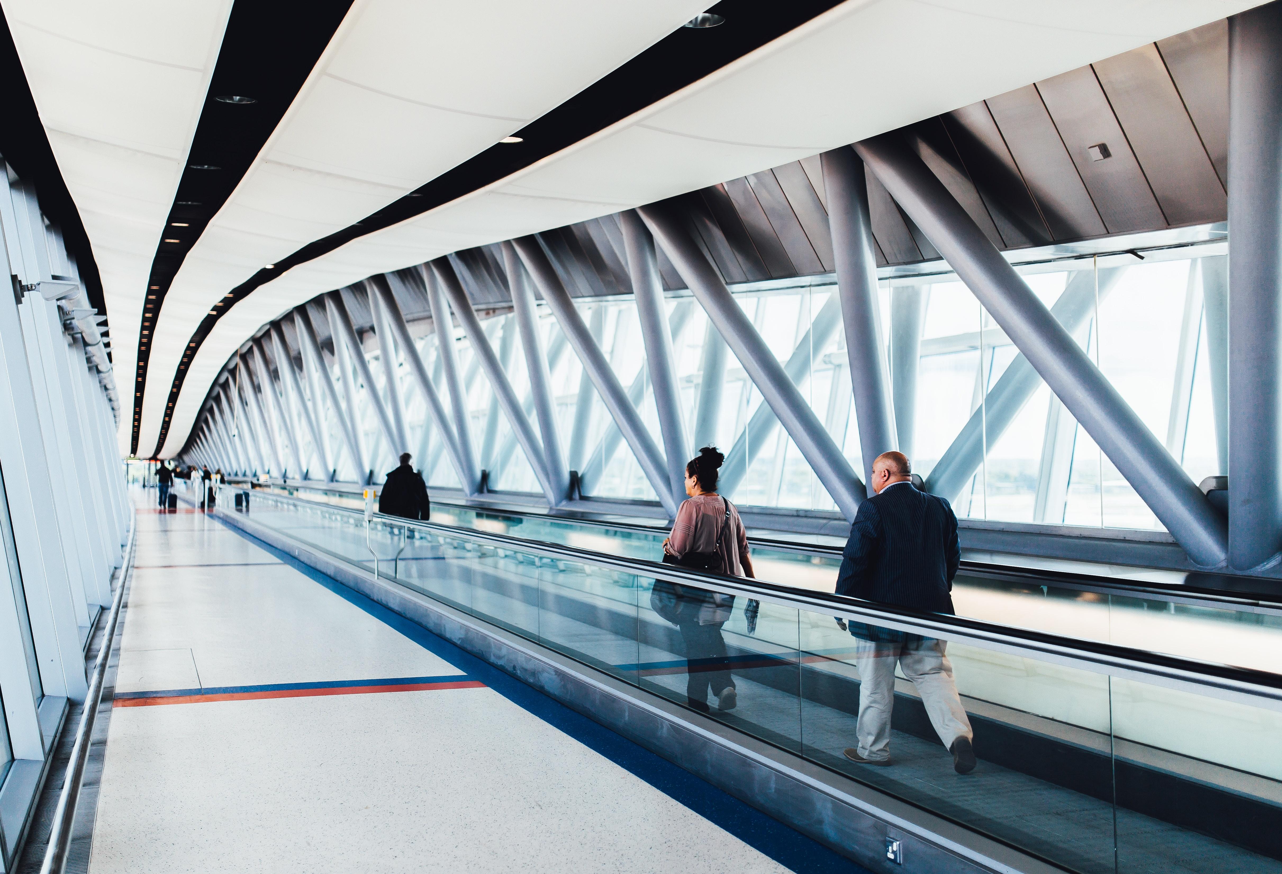 Vers les aéroports